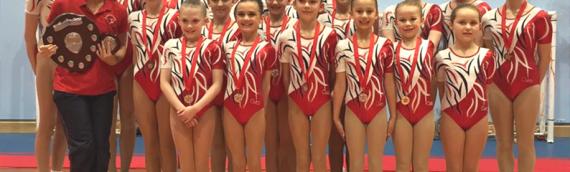 Aerobics make mark at Regional Championships