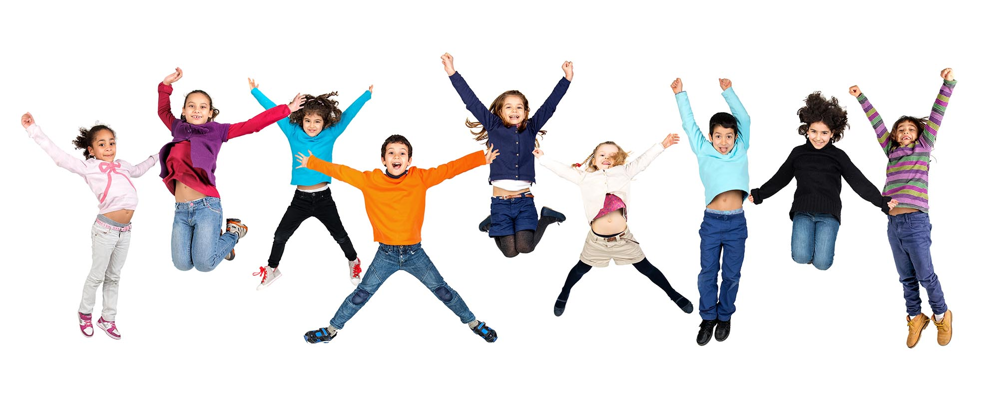Children jumping – Basingstoke Gym