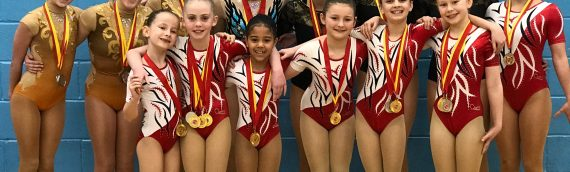 Southern Region Success for the Aerobics Team